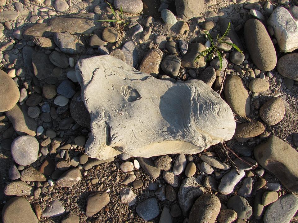 Stone, Horse, Pebbles, Beach
