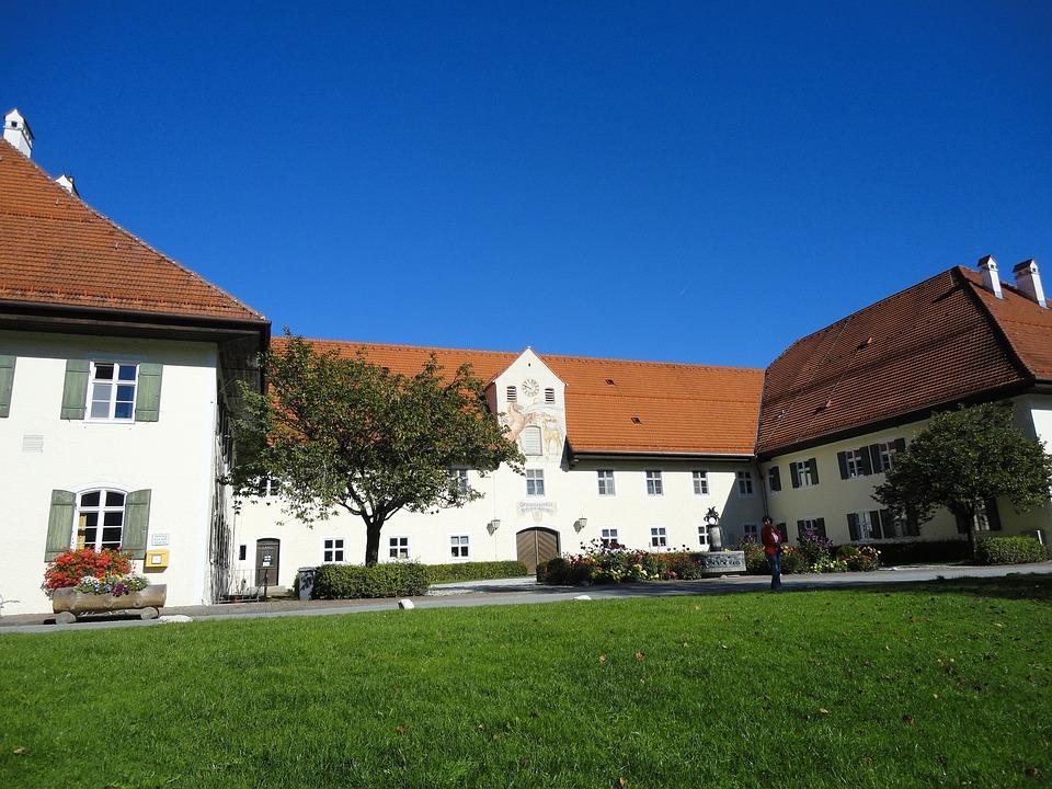 Ohlstadt, Bavaria, Horse Stud, Gestüt State