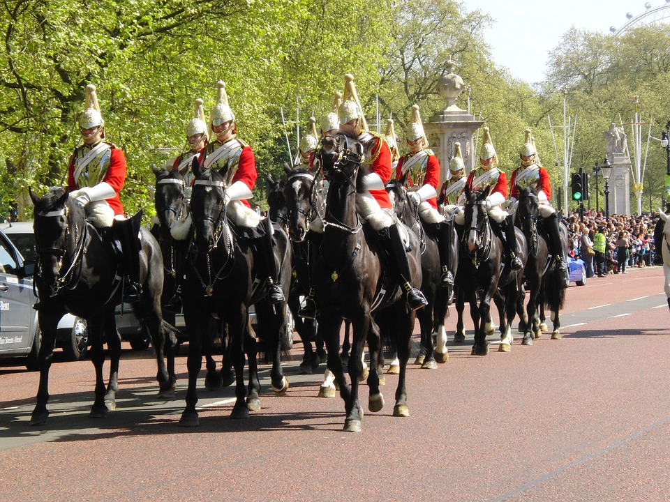 Free photo Horseguards Horses Changing Of The Guard London