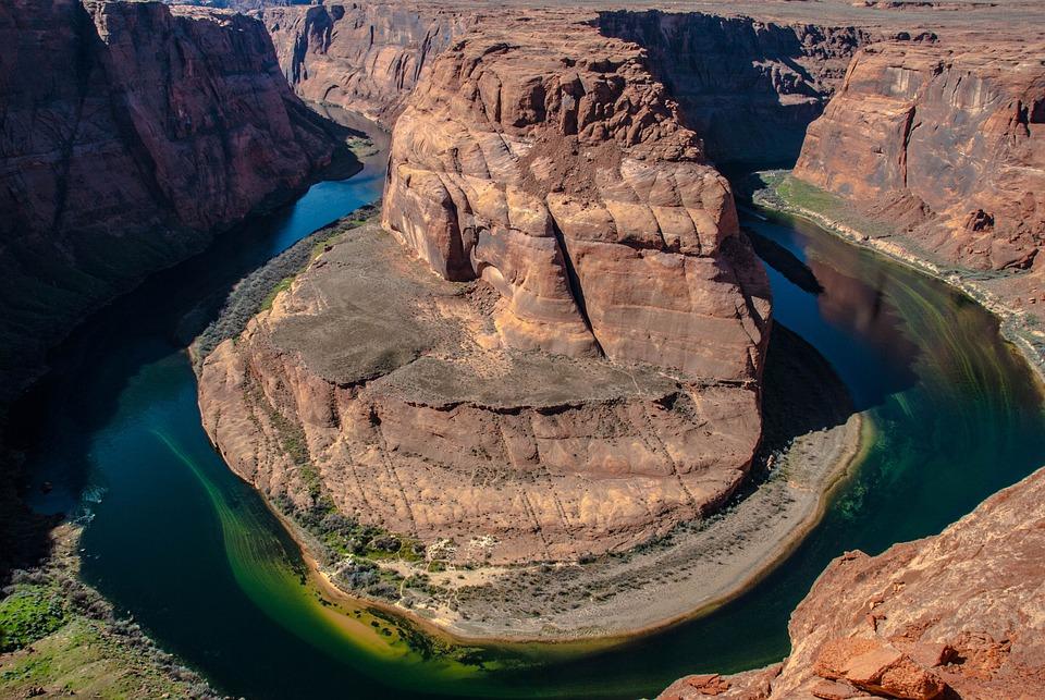 Horseshoe Bend, Page, Arizona, Horseshoe, Nature