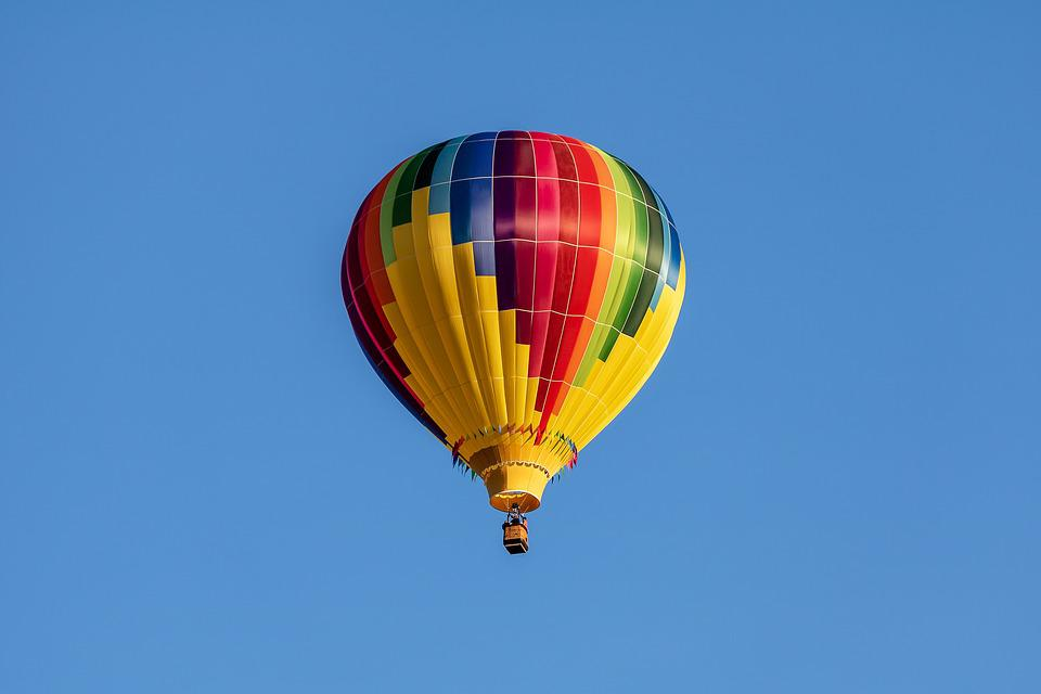 Hot Air Balloon, Balloon, Aircraft, Flying, Sky