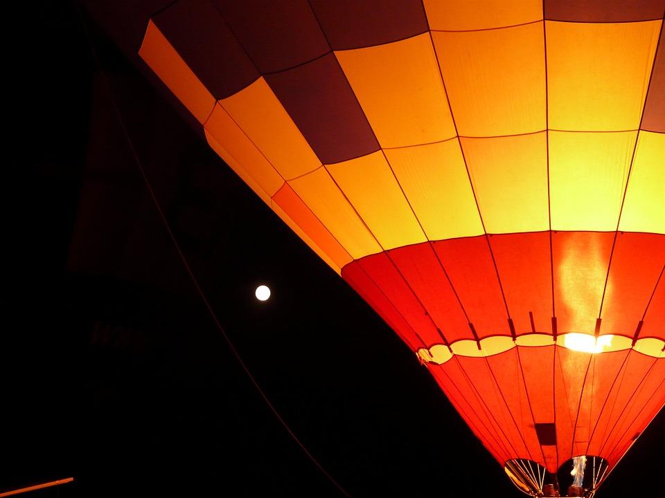 Balloon, Hot Air Balloon, Balloon Glow, Drive, Hot Air