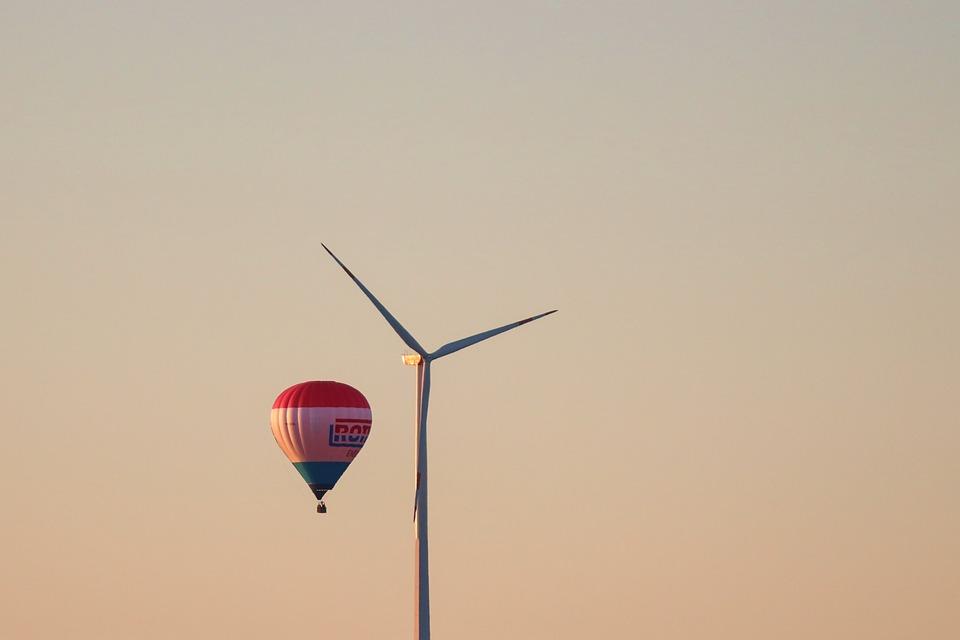 Balloon, Hot Air Balloon, Pinwheel