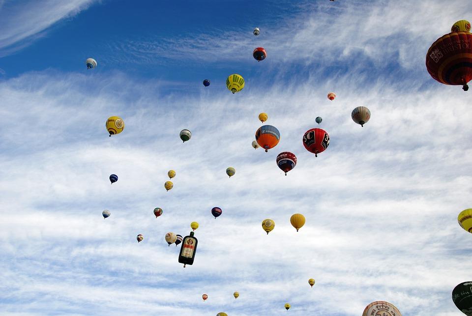 Hot Air Balloon, Balloon, Sky, Hot Air Balloon Ride