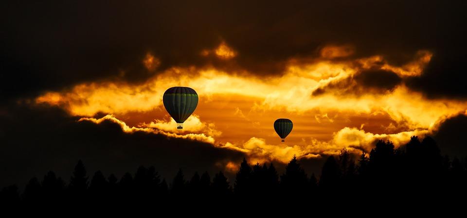 Travel, Hot Air Balloon, Aviation, Hot Air Balloon Ride