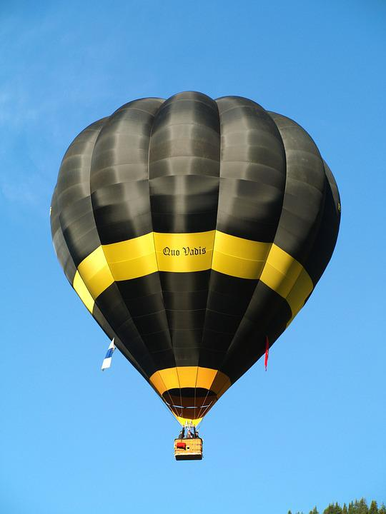 Hot Air Balloon, Drive, Sky, Go Balloon