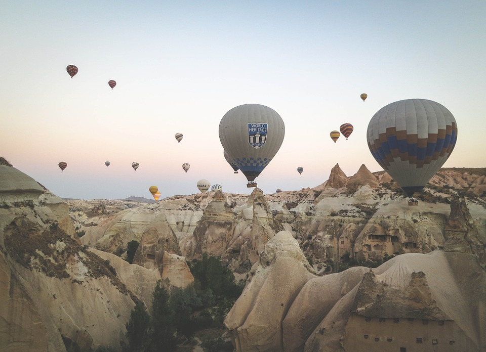 Balloons, Hot Air Balloons, Sky, Travel, Colorful
