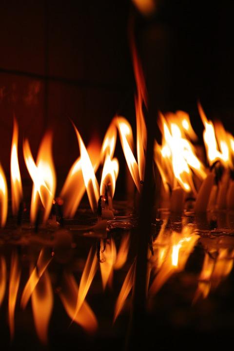 Flame, Ali, Candle, Hot, Prayer, Church, Worship