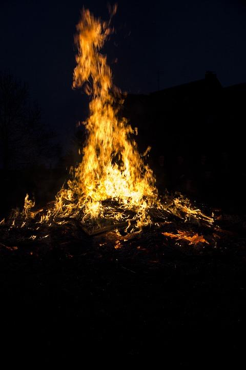 Fire, Easter, Easter Fire, Dangerous, Hot, Burn