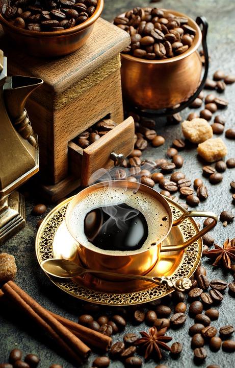 Coffee, Coffee Beans, Coffee Cup, Drink, Hot Coffee