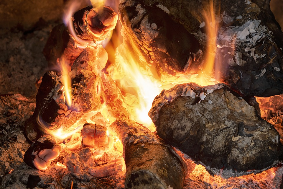 Fire, Flame, Hot, Bonfire, Campfire