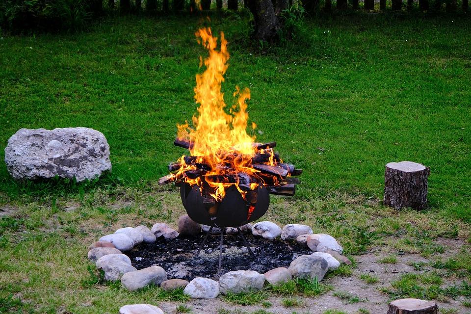 Campfire, Flame, Wood, Fire Rose, Fire, Hot, Wood Fire