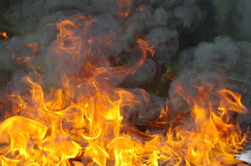 Fire, Fireman, To Walk, Hot