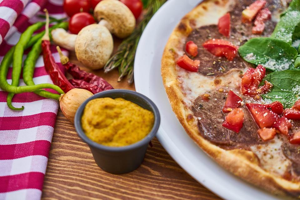 Pizza, Dough, Flour, Hot, Fresh, Hunger, Food Photo