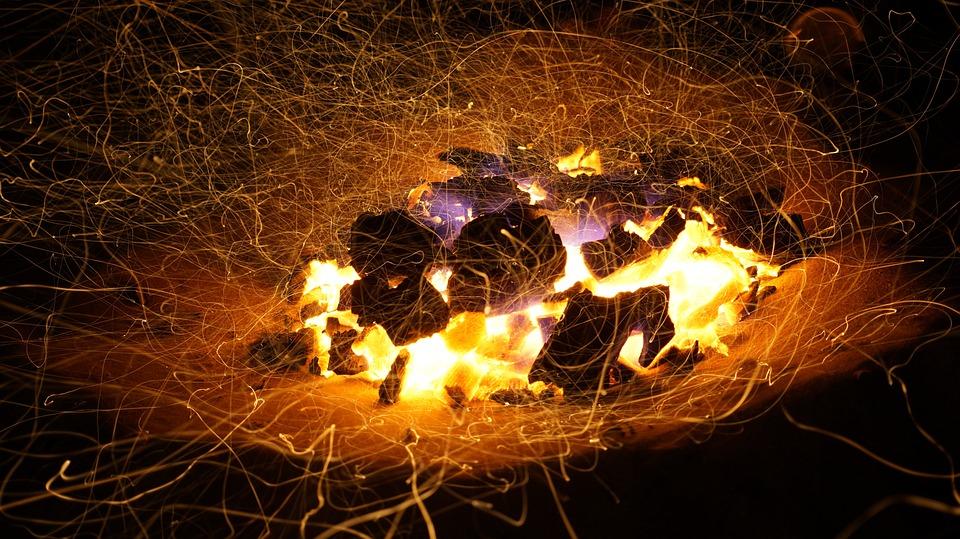 Fire, Flame, Light, Smoke, Bonfire, Hot, Heat, Danger