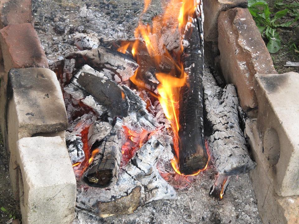 Fire, Wood, Flames, Hot, Heat, Burn, Burning, Smoke