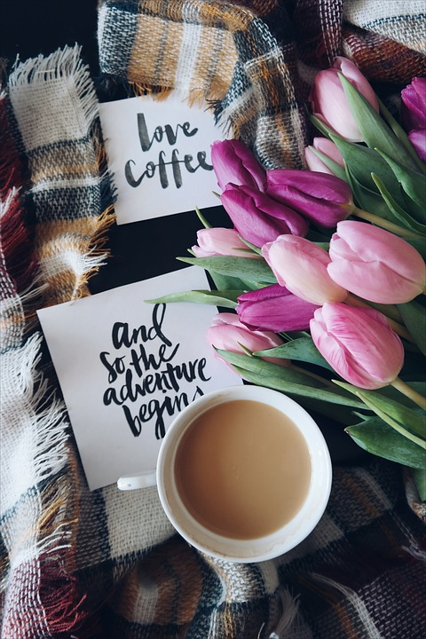 Coffee, Cafe, Hot, Mug, Cup, White, Lettering, Quote