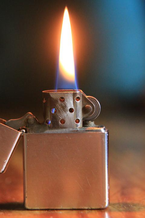 Zippo Lighters Flame Free photo Hot Petrol ...