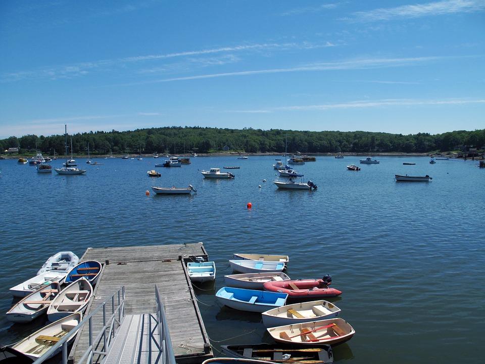 Summer Solstice, Hot Weather, Lake, Boats, Solstice