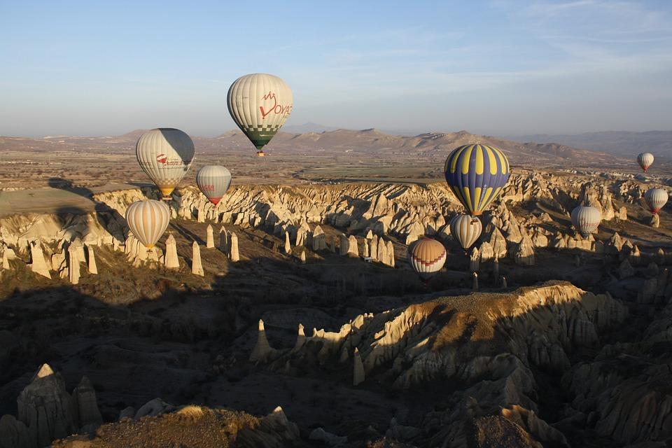 Hot-air Ballooning, Turkey, Cappadocia