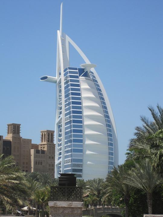 Architecture, City, Hotel, Sky, Modern, Skyscraper