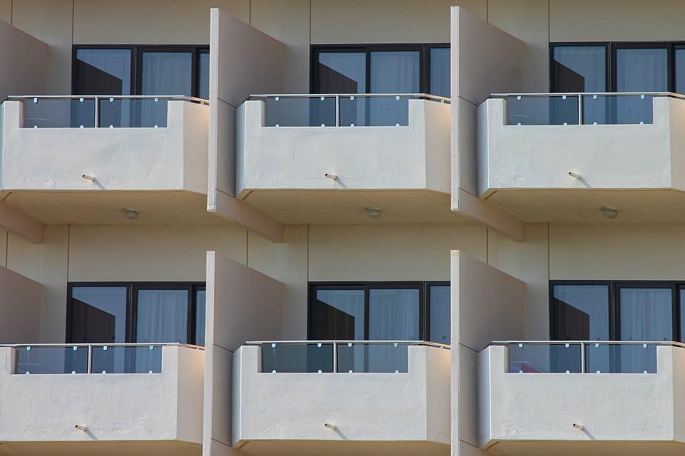 Balcony, Hotel, Architecture, Building, Facade