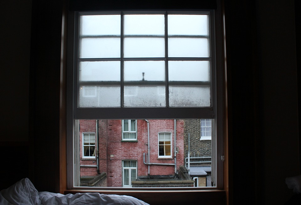 Window, Hotel, Condensation, Fog, Buildings, London