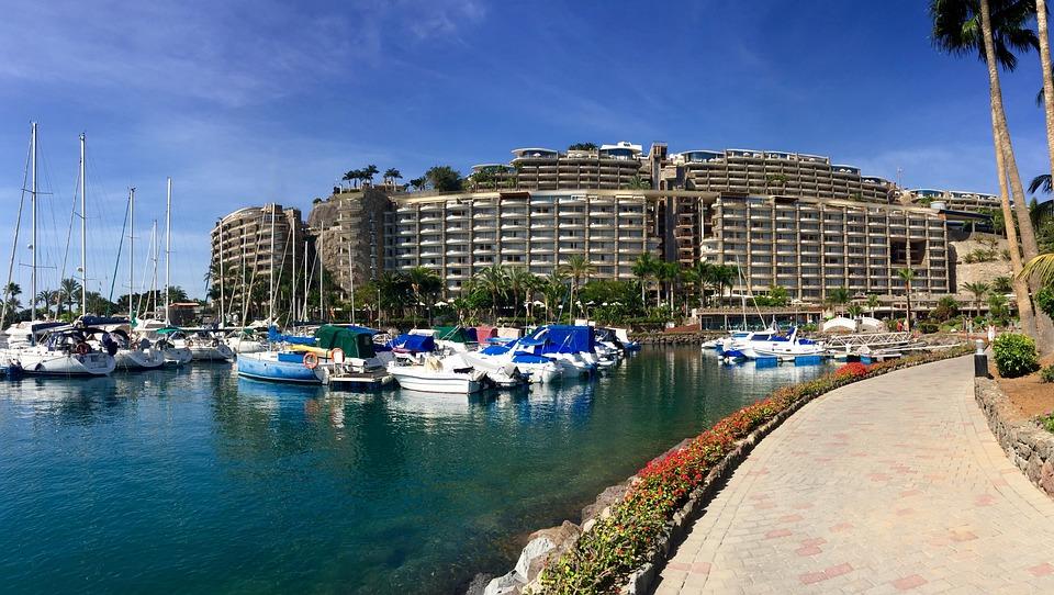 Anfi Del Mar, Gran Canaria, Hotel, Timeshare, Marina