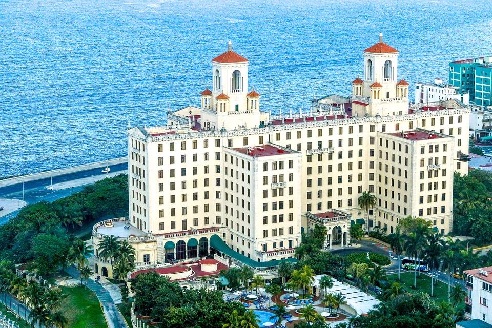 Cuba, Hotel, Hotel Nacional De Cuba, Havana, Building