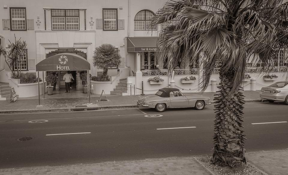 South Africa, Hotel, Oldtimer, Road, Cape Town