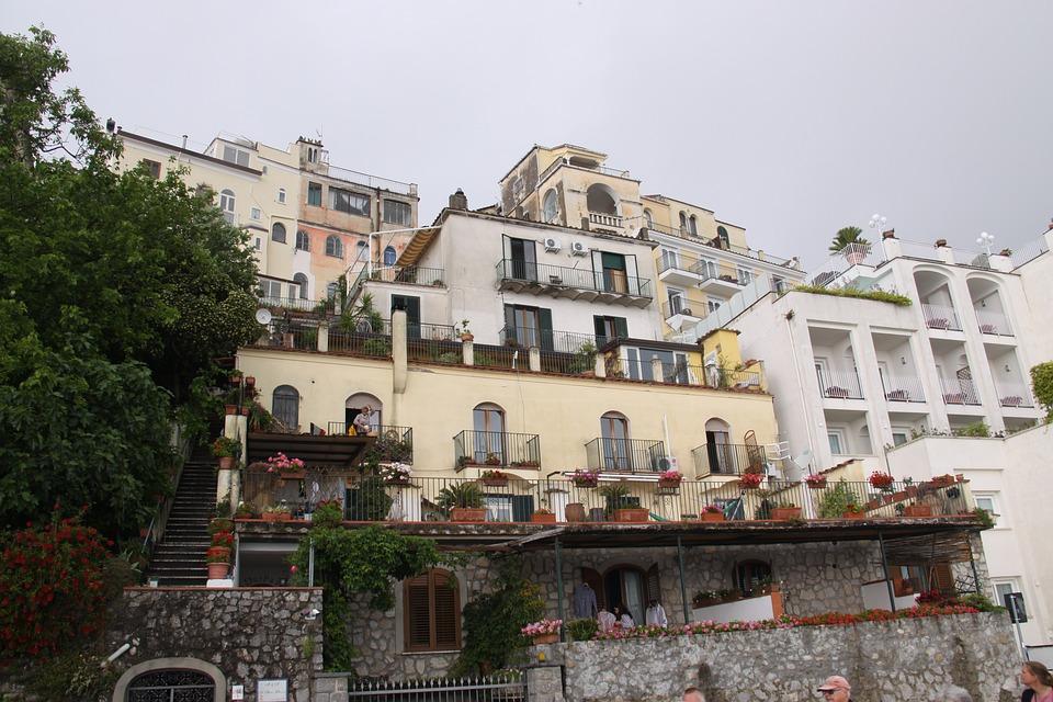 Ravello, Italy, The Amalfi Coast, Campania, Hotel