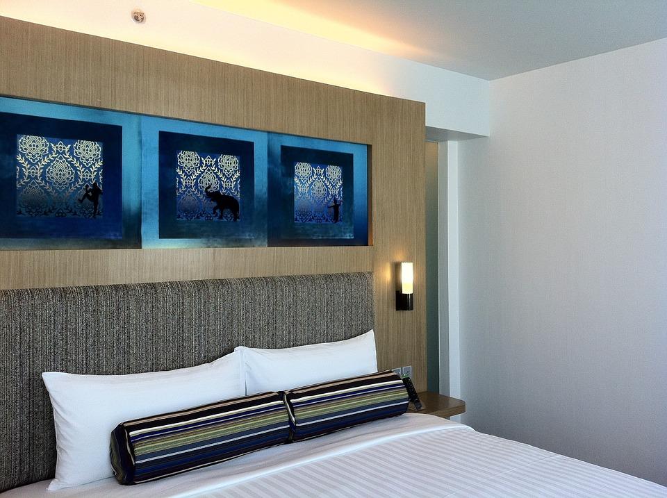 Bedroom, Hotel, Accommodation, Sleeping