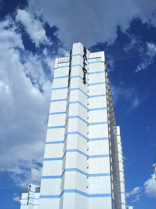 Tall Building, Hotel, Las Vegas, Urban, Architecture