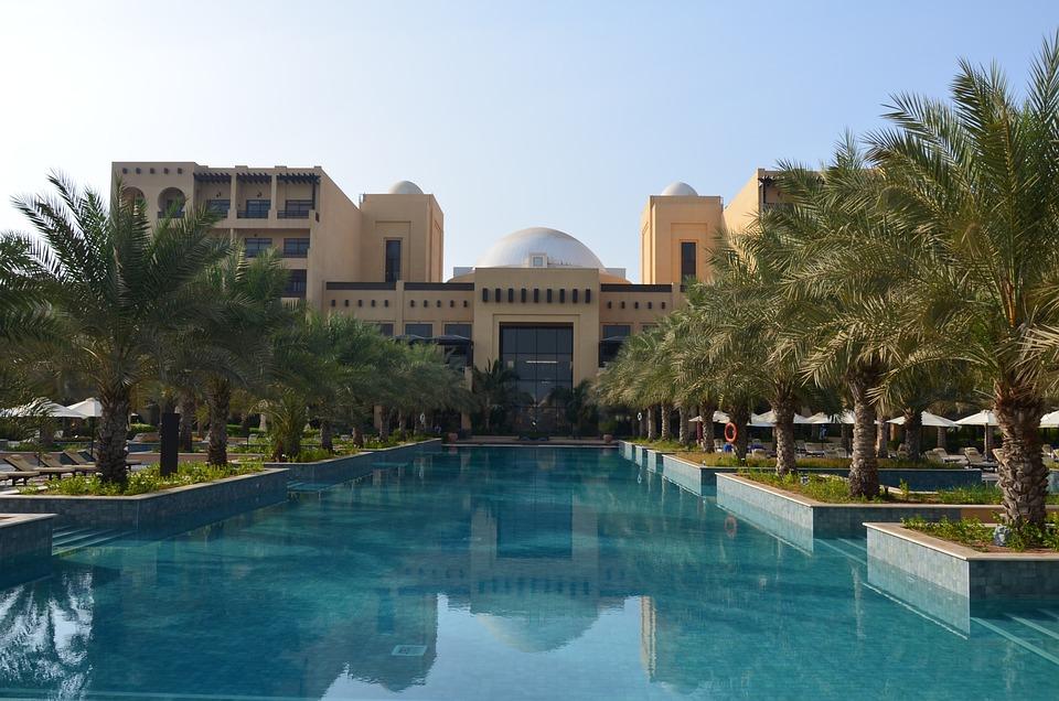 U A E, Hotel, Hilton Ras Al Khaimah, Pool