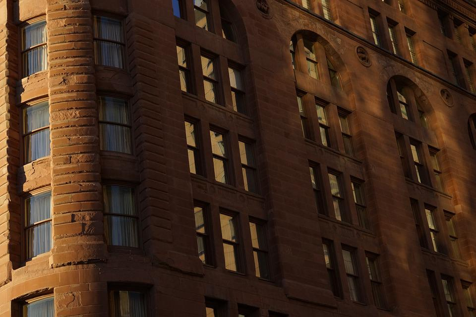 Building, Downtown, Office, Hotel, Urban, Architecture