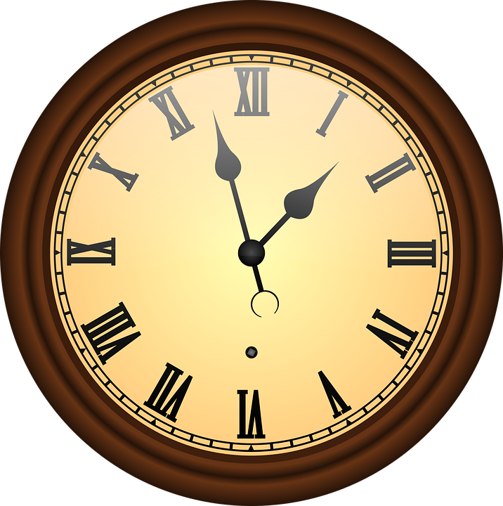 Antique, Clock, Hour, Minutes, Old, Time