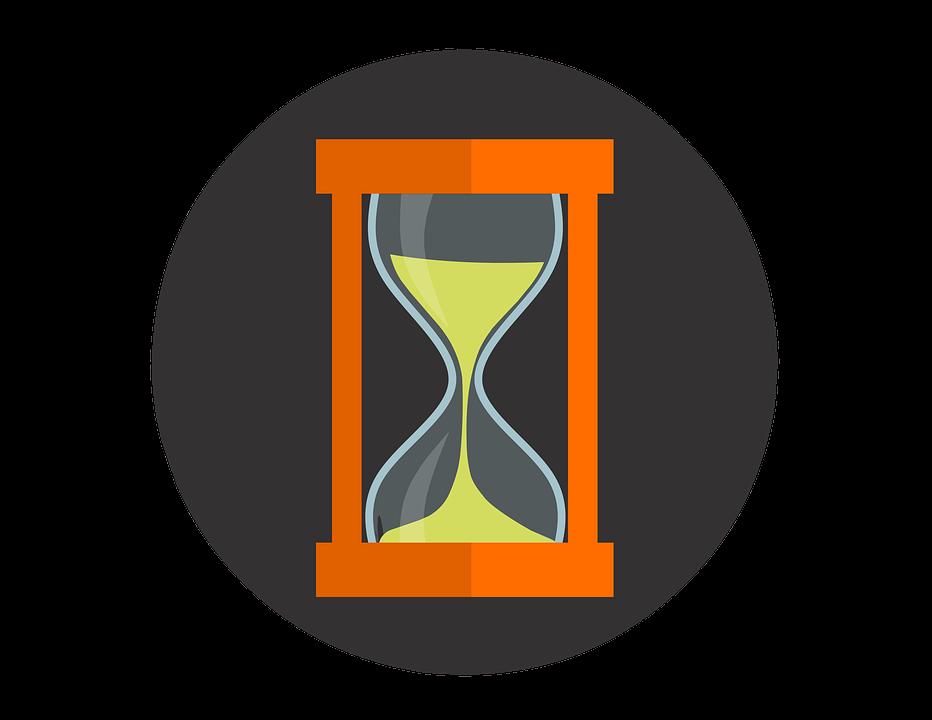 Hourglass, Sand, Icon, Hour-glass, Sand-glass, Glass