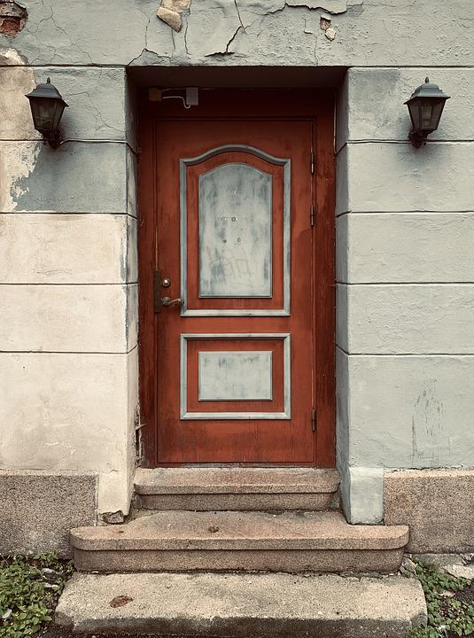 Door, House, Building, Old, Architecture, Wood