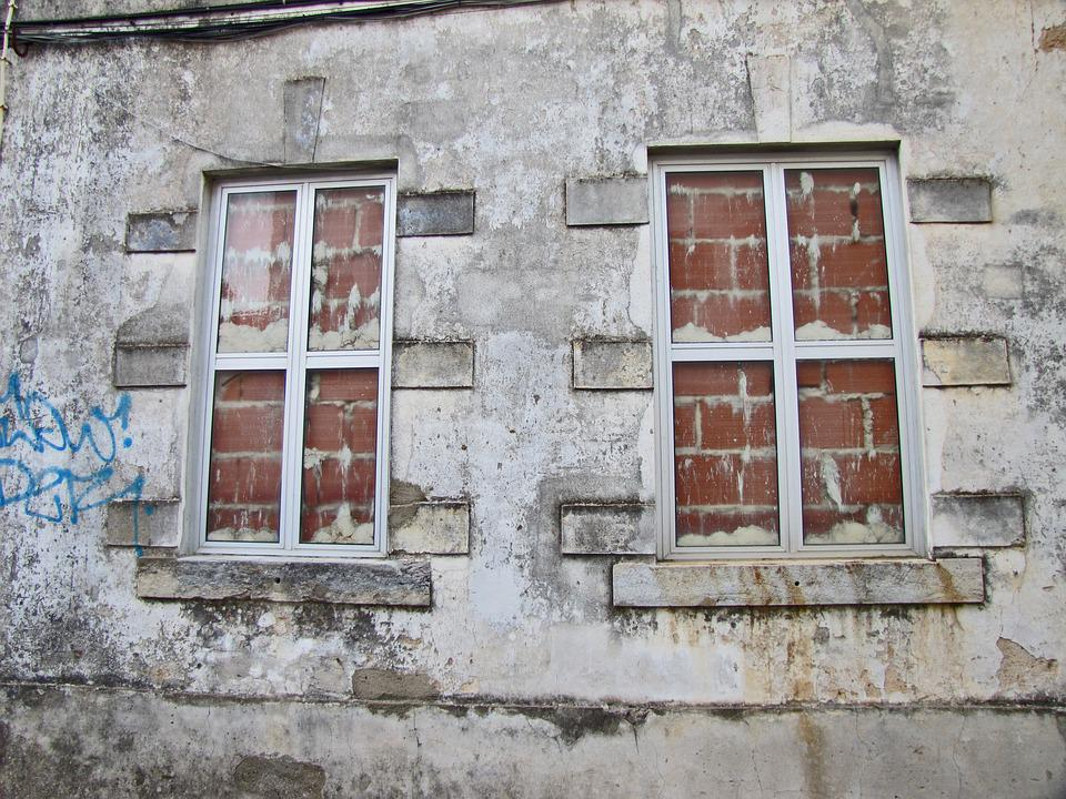 Window, House, The Façade Of The, Architecture