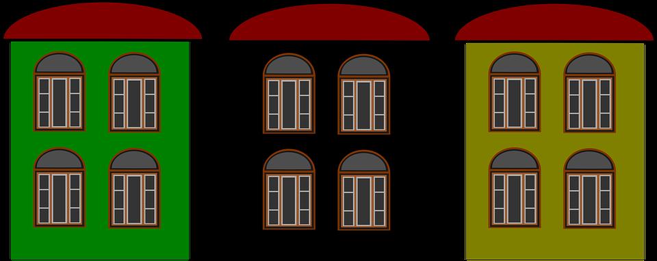 House, Windows, Architecture, Building, Glass