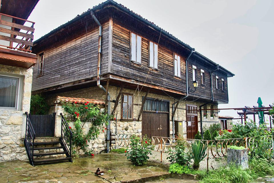 House, Architecture, Wooden, Home, Facade, Residential