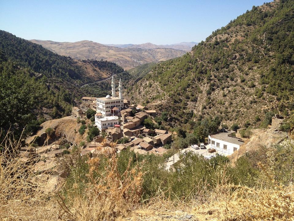 Mosque, House, Blade, Berber