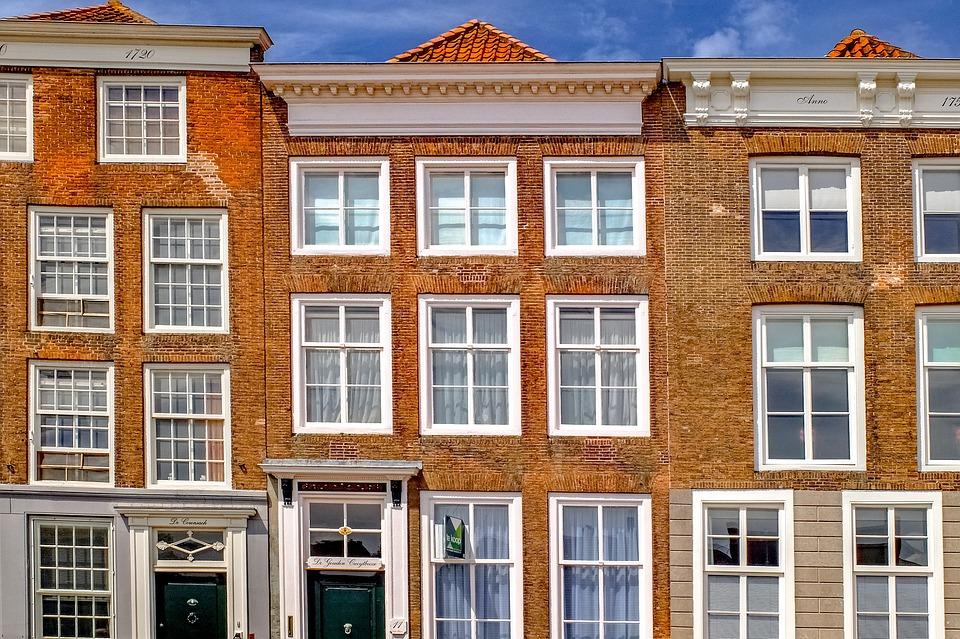 Building, Home, House, Brick, Facade, Middelburg