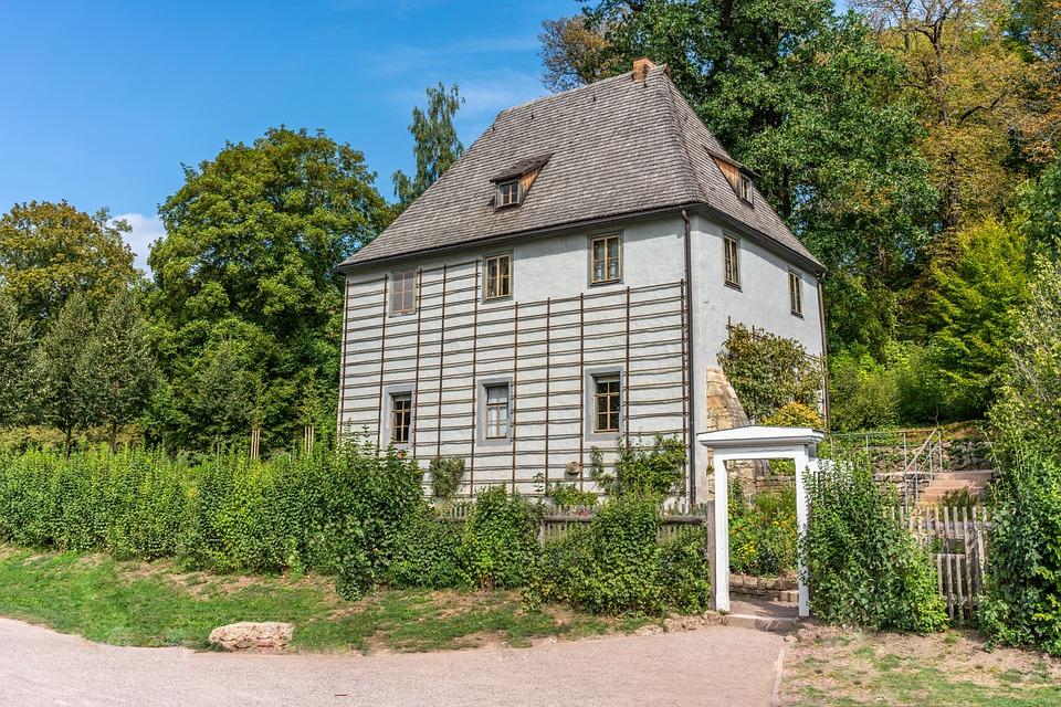 Garden Shed, House, Goethe, Building, Weimar
