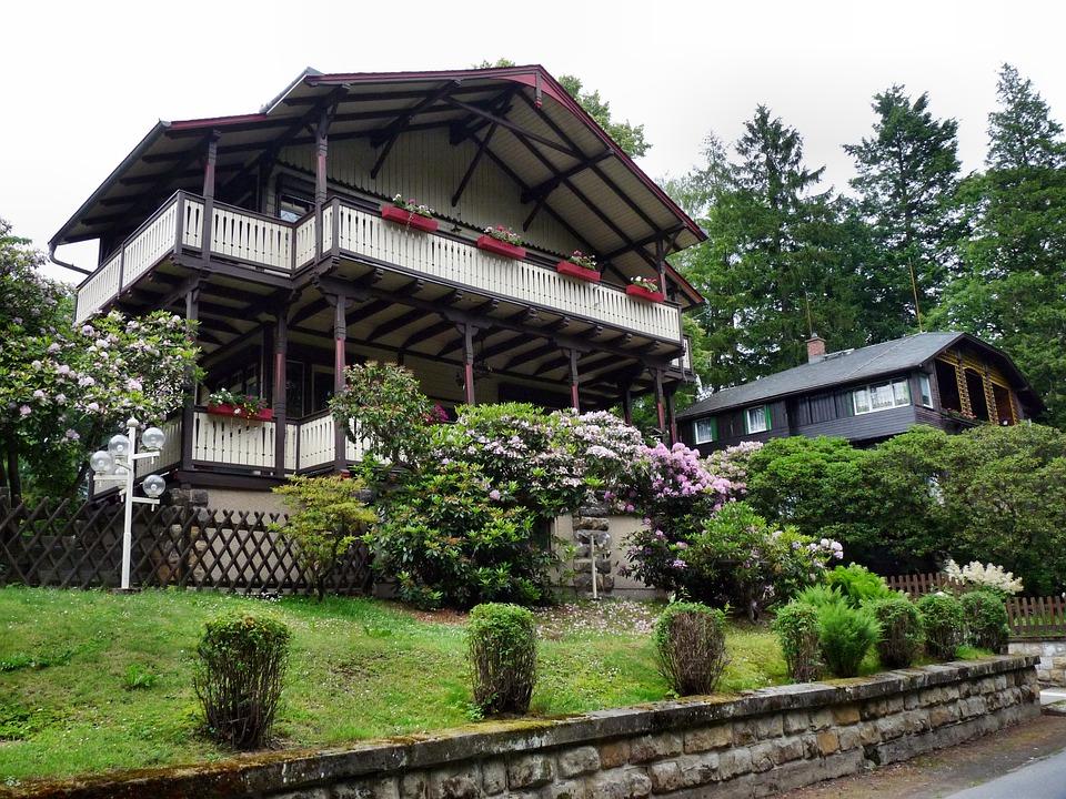 House, Villa, Building, Architecture, Truss, Live