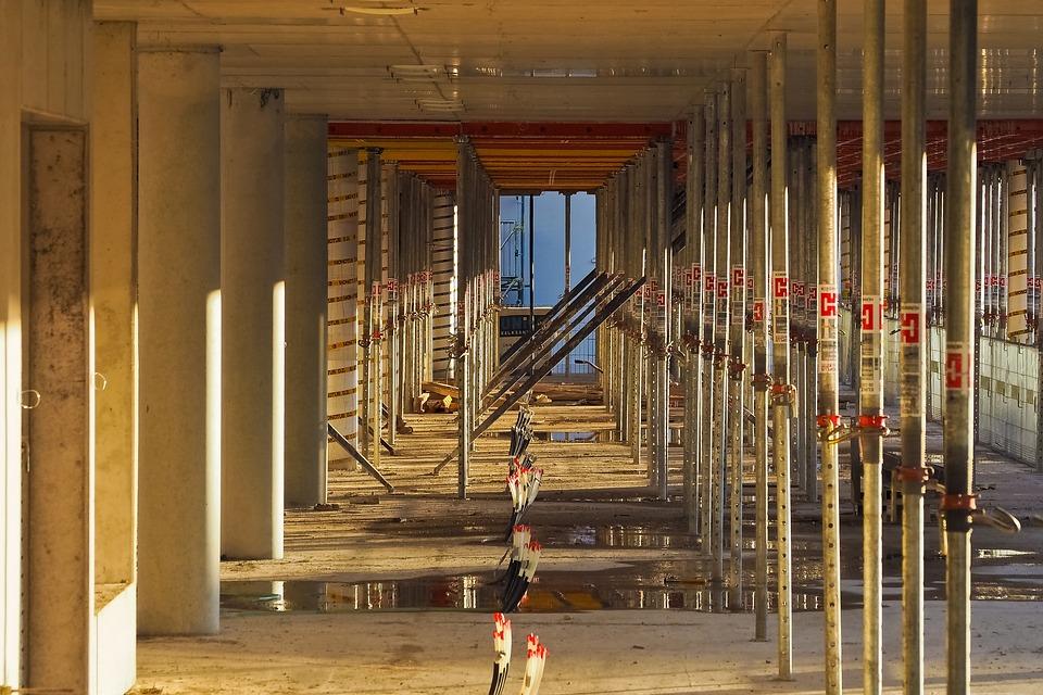 Construction, Site, Build, Building, House Construction
