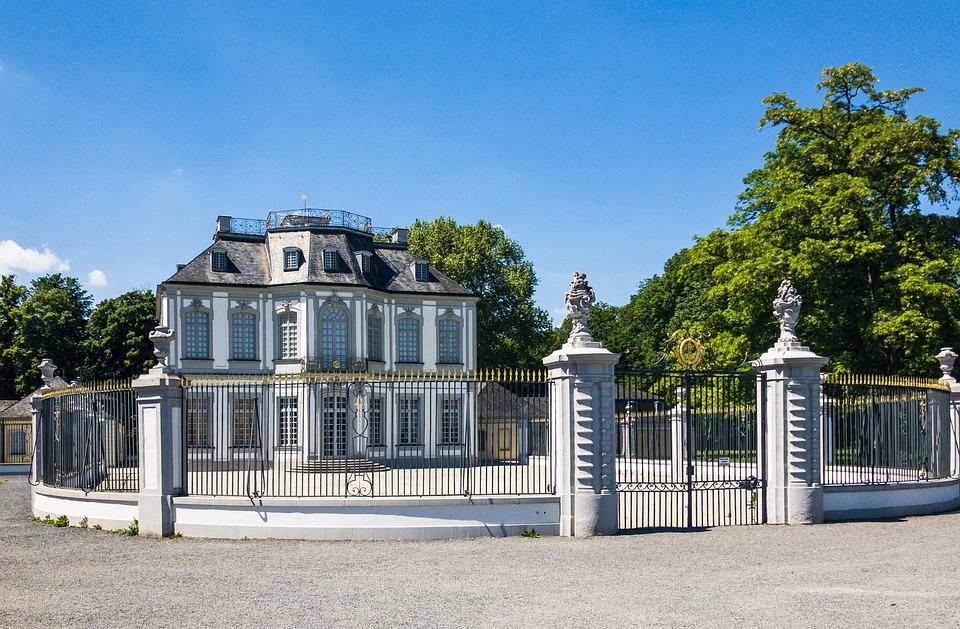 Falkenlust, Rococo, Construction, Grid, House, Hunting