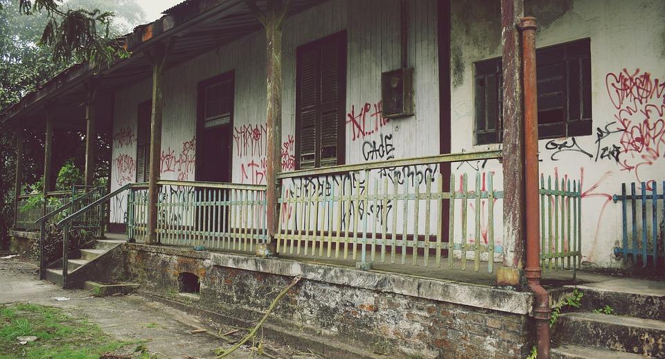 Home, Destruction, House Destroyed, Abandoned House