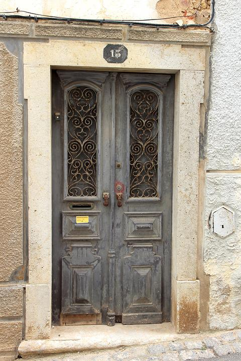 Door, Wood, Old, Input, Architecture, Building, House