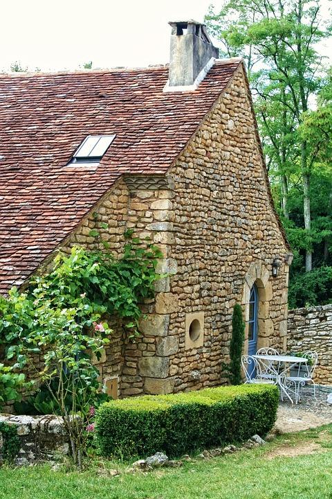 France, Dordogne, Périgord, House, Old Stones